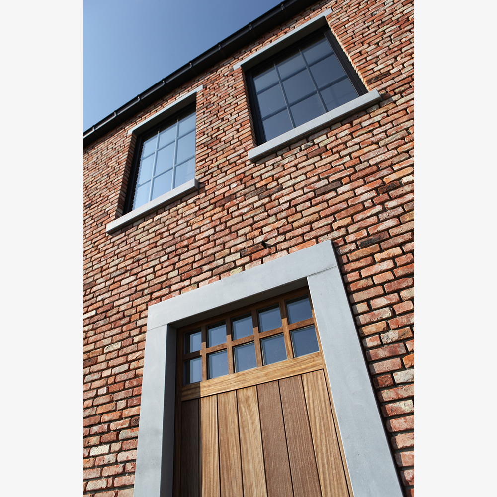 landelijke nieuwbouw manoir woning limburg architect detail