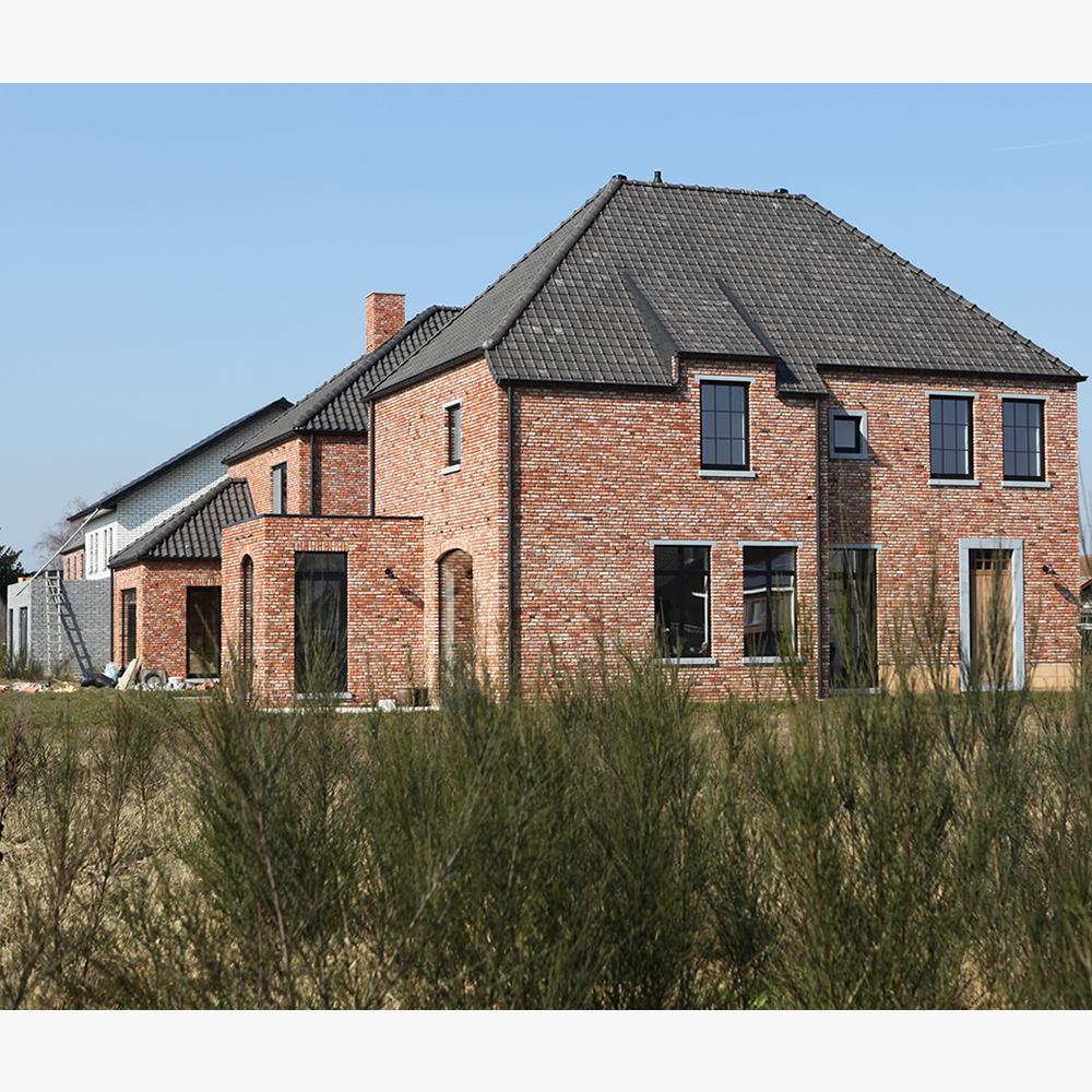 landelijke nieuwbouw manoir woning limburg architect