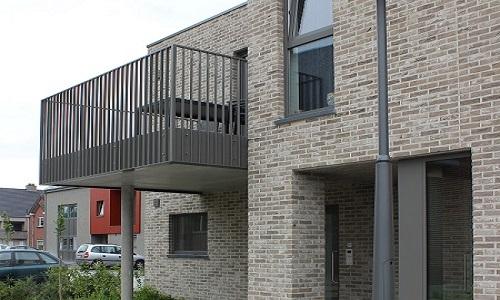 Groepswoningbouw met 21 wooneenheden detail