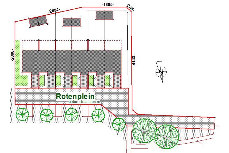 VMSW Rotenplein Inplantingsplan