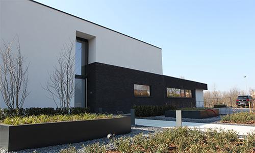 Verbouwing moderne woning