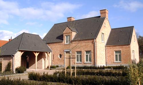 Landelijke woning for Landelijk bouwen architect
