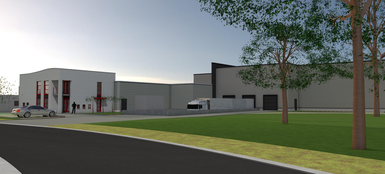 Uitbreiding van bedrijfsgebouw_architect Do Modus