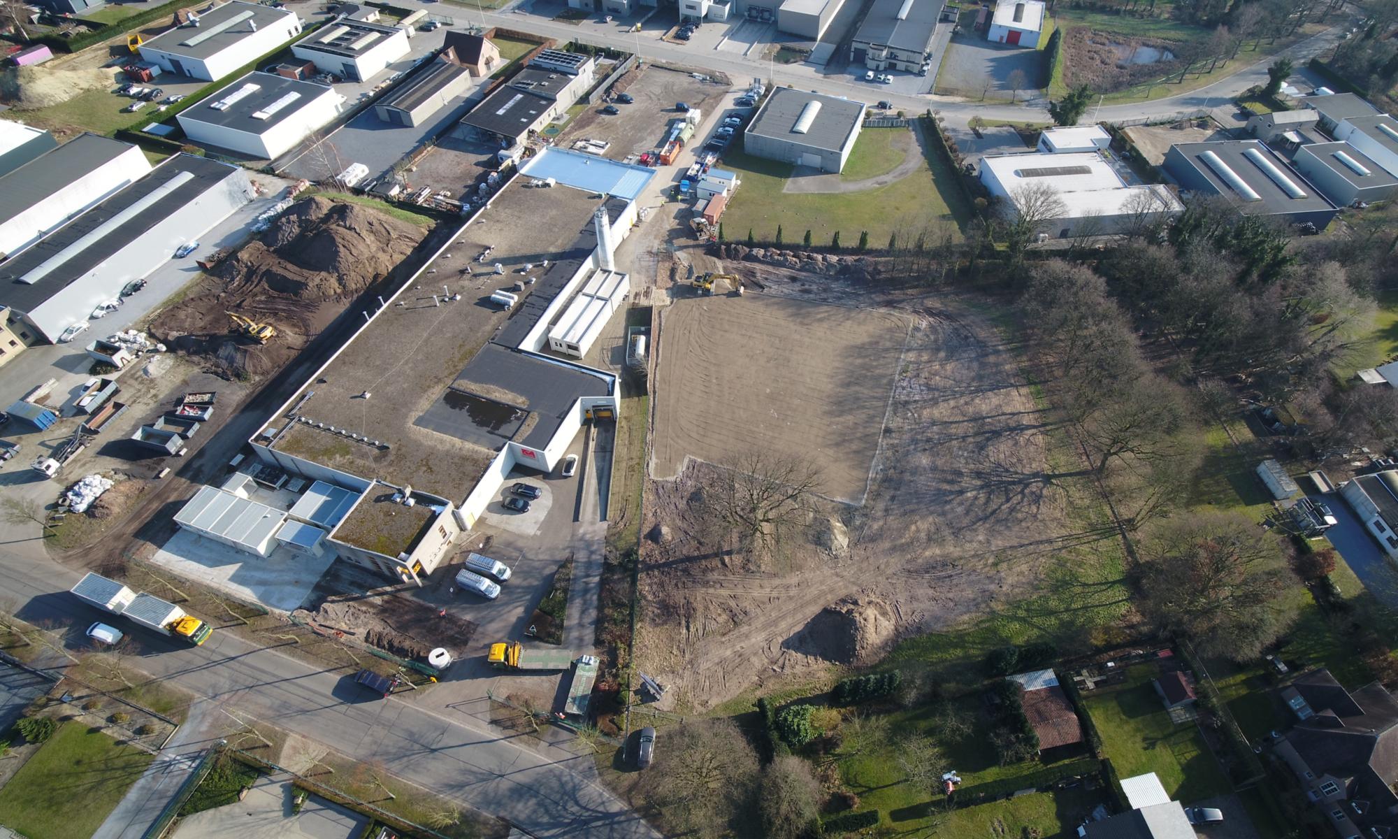 Utiliteitsbouw_uitbreiding bedrijfsgebouw Limburg