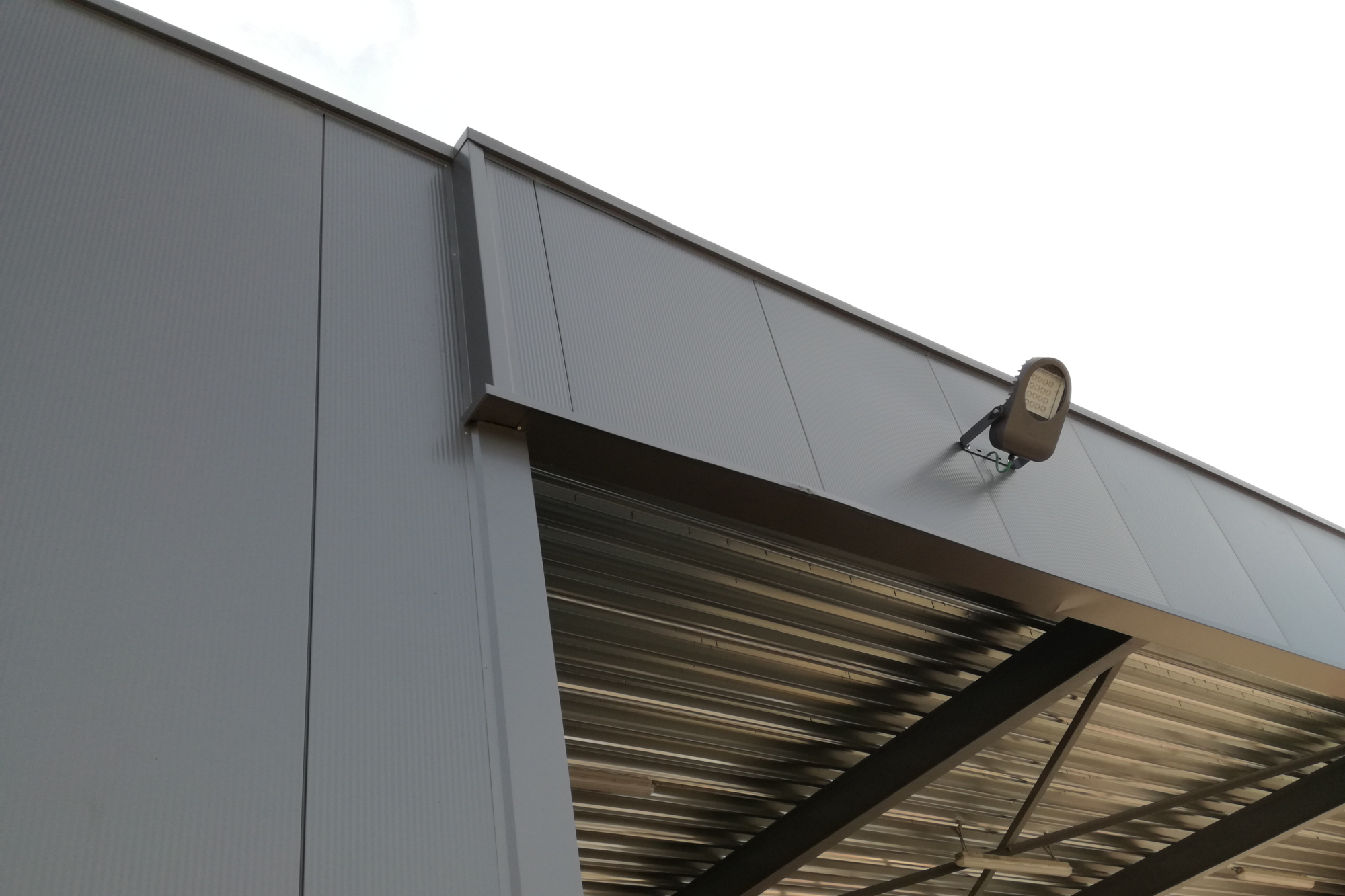 Uitbreiding bedrijfsgebouw Zonhoven_architect Do Modus detail