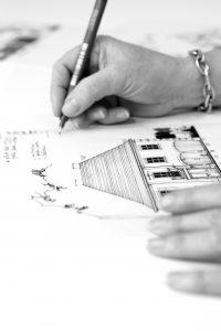 architect Limburg tekening