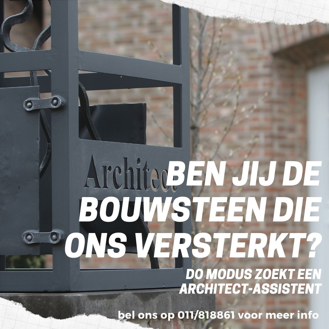 Do Modus zoekt een architect-assistent