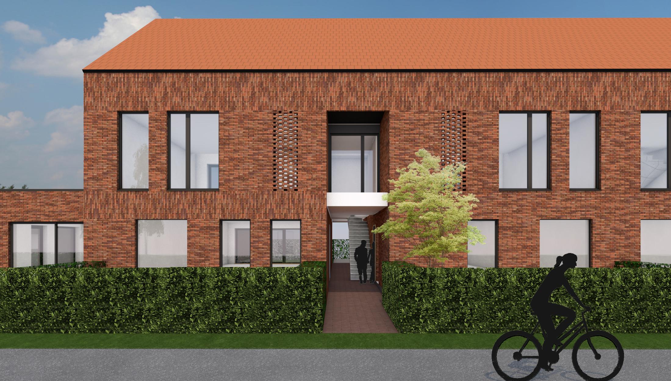 Appartementen Pelt architect Limburg
